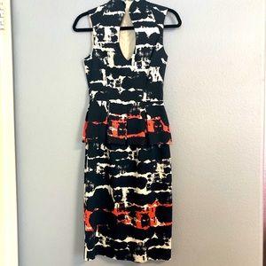 Black Halo Dress multi Color size 2